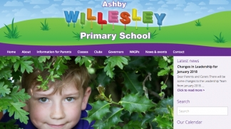 Leicestershire school website design