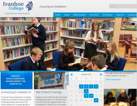 Website Designs for Schools and Education