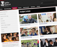 Ashby School - School Website Design Services