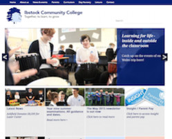 Ibstock Community College - School Website Design