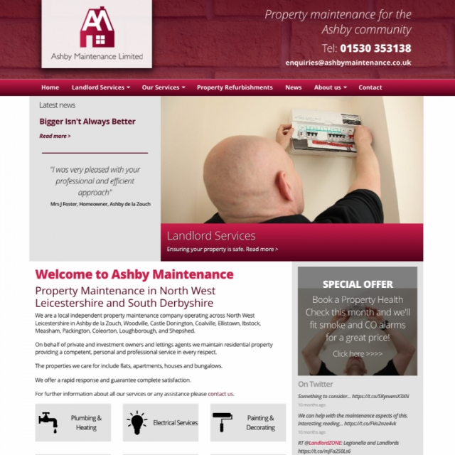 Ashby Maintenance