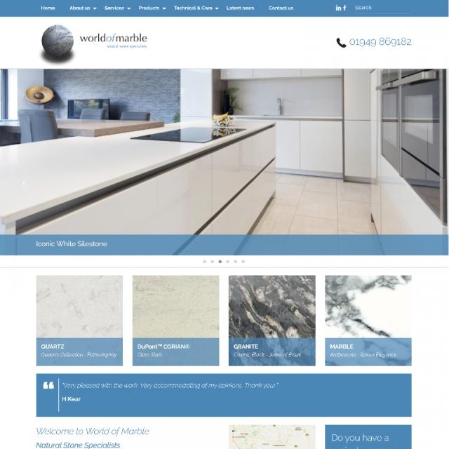 Bespoke Product Catalogue Website Peter Bourne Communications